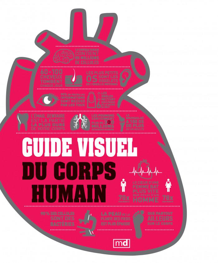 Couverture de Guide visuel du corps humain