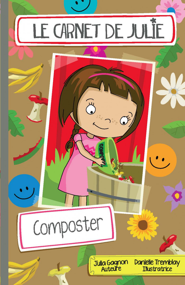 Couverture de Le carnet de Julie - Composter