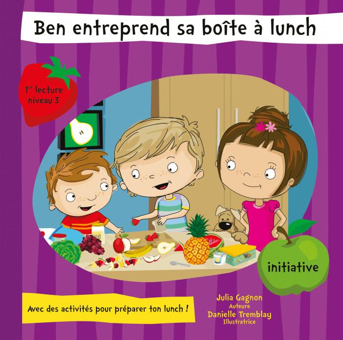 Couverture de Ben entreprend sa boîte à lunch
