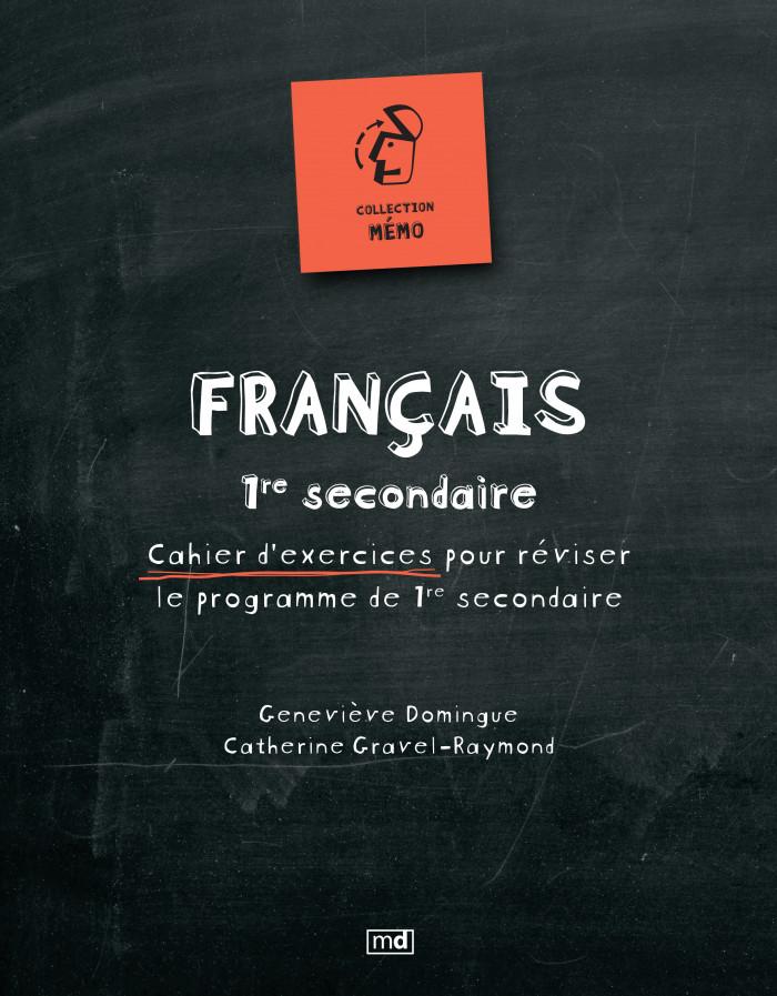 Couverture de Mémo - Français, 1re secondaire