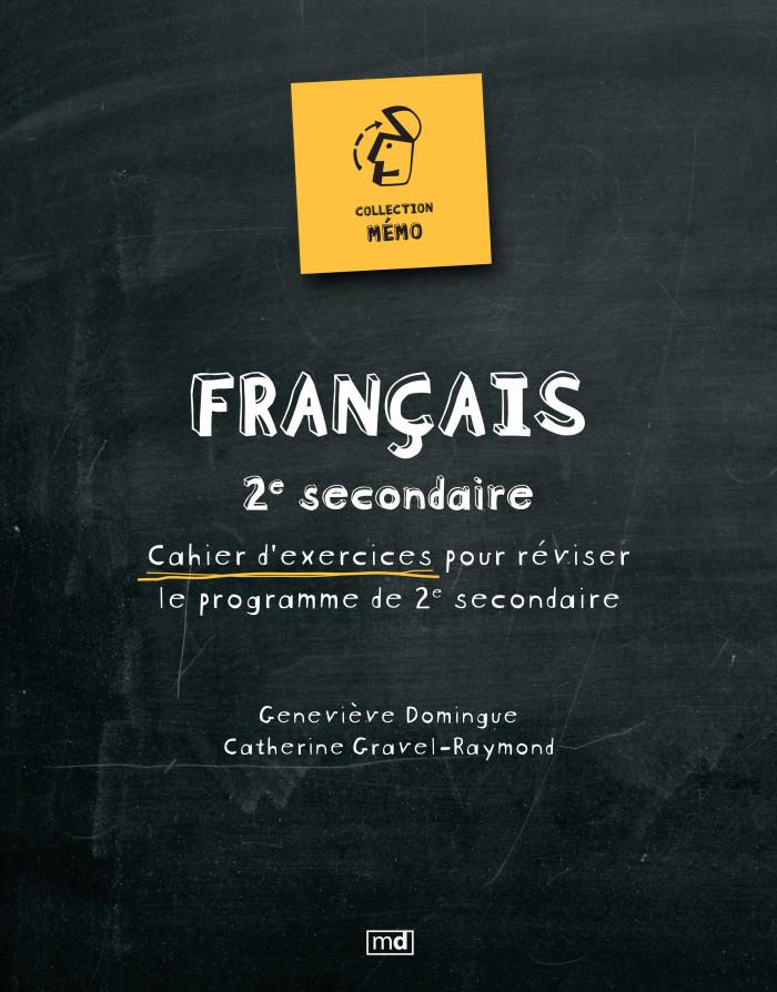Couverture de Mémo - Français, 2e secondaire