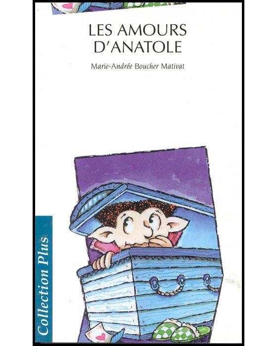 Couverture de Les Amours d'Anatole
