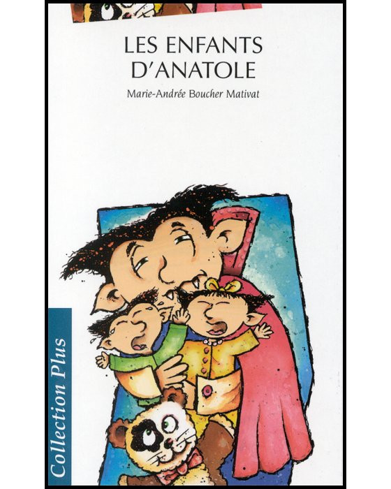 Couverture de Les Enfants d'Anatole