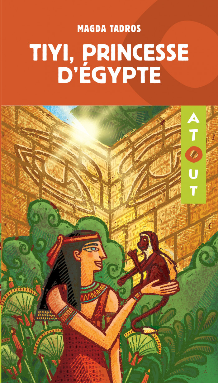 Couverture de Tiyi, princesse d'Égypte