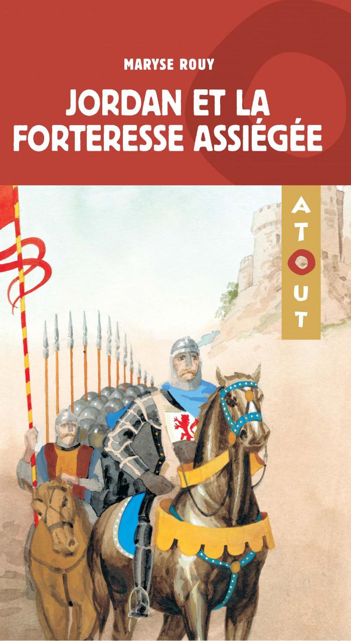 Couverture de Jordan et la forteresse assiégée