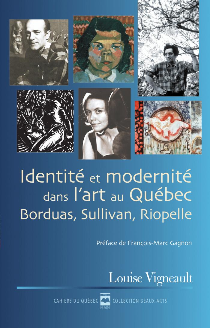 Couverture de Identité et modernité dans l'art au Québec