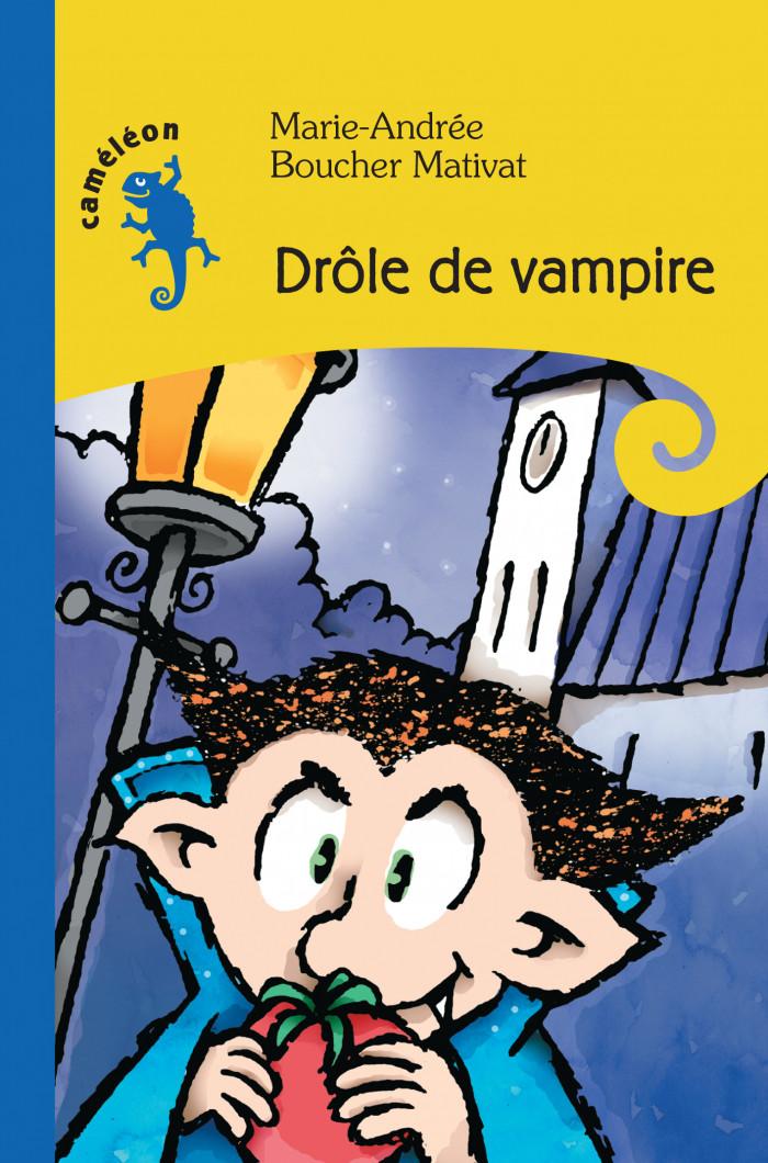 Couverture de Drôle de vampire