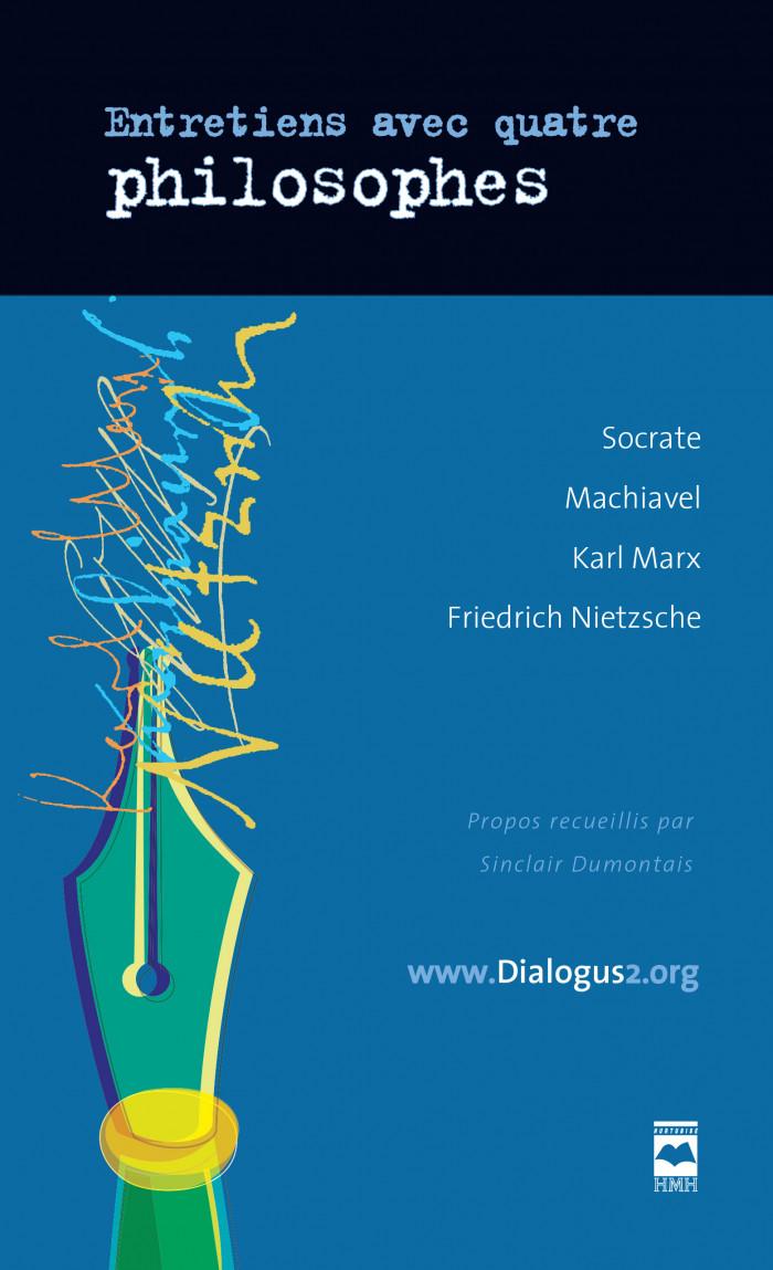 Couverture de Entretiens avec quatre philosophes