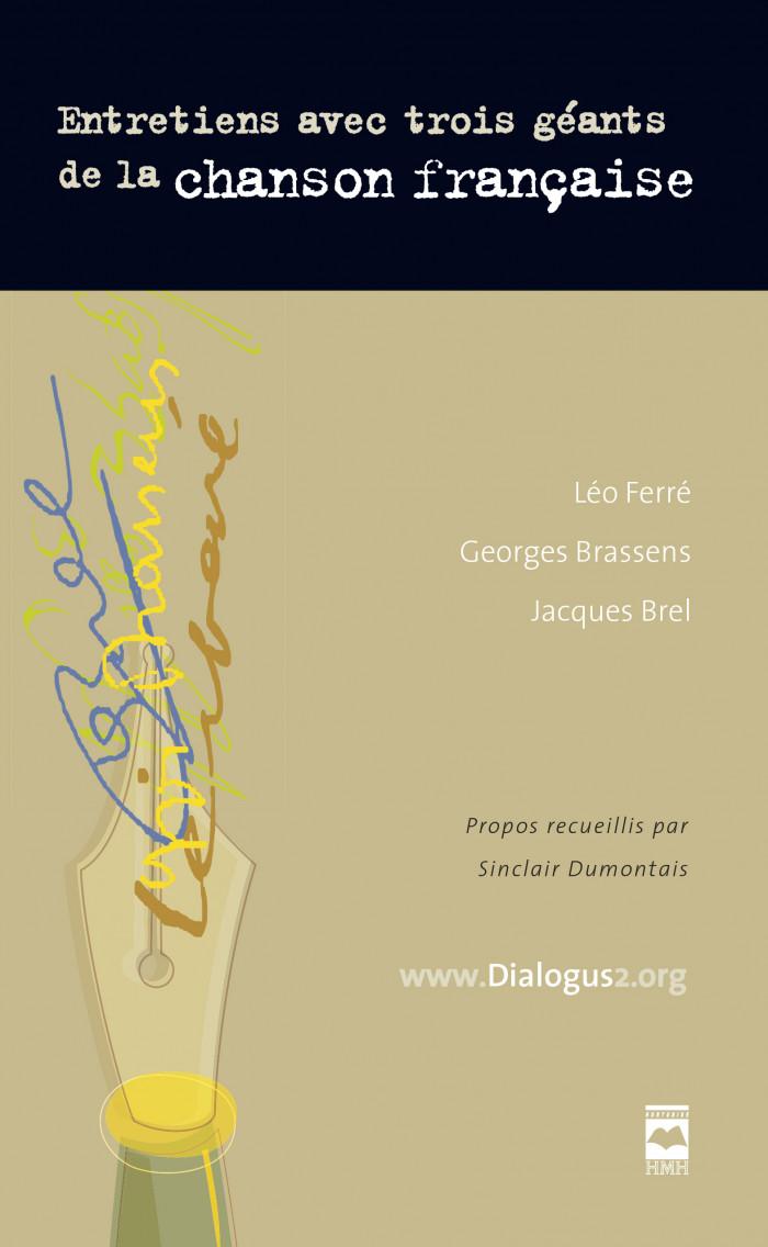 Couverture de Entretiens avec trois géants de la chanson française