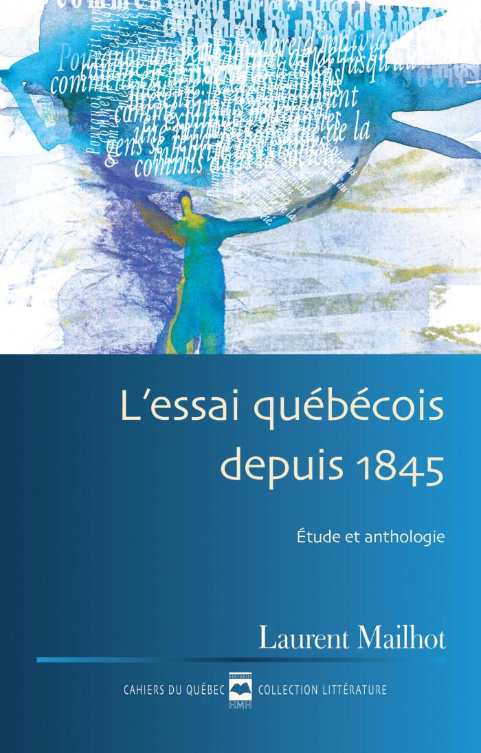 Couverture de L'Essai québécois depuis 1845