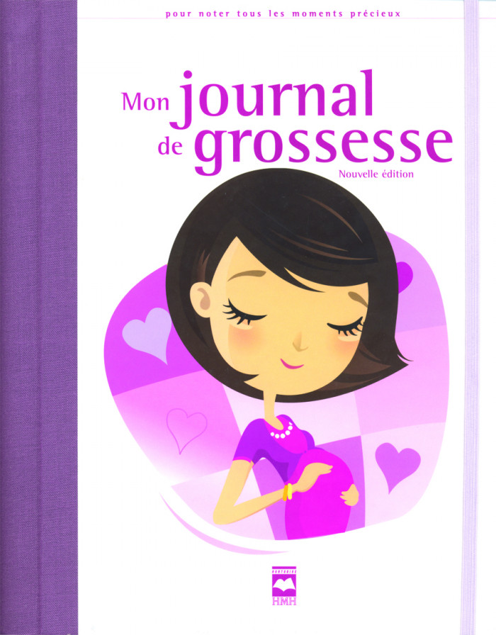Couverture de Mon journal de grossesse