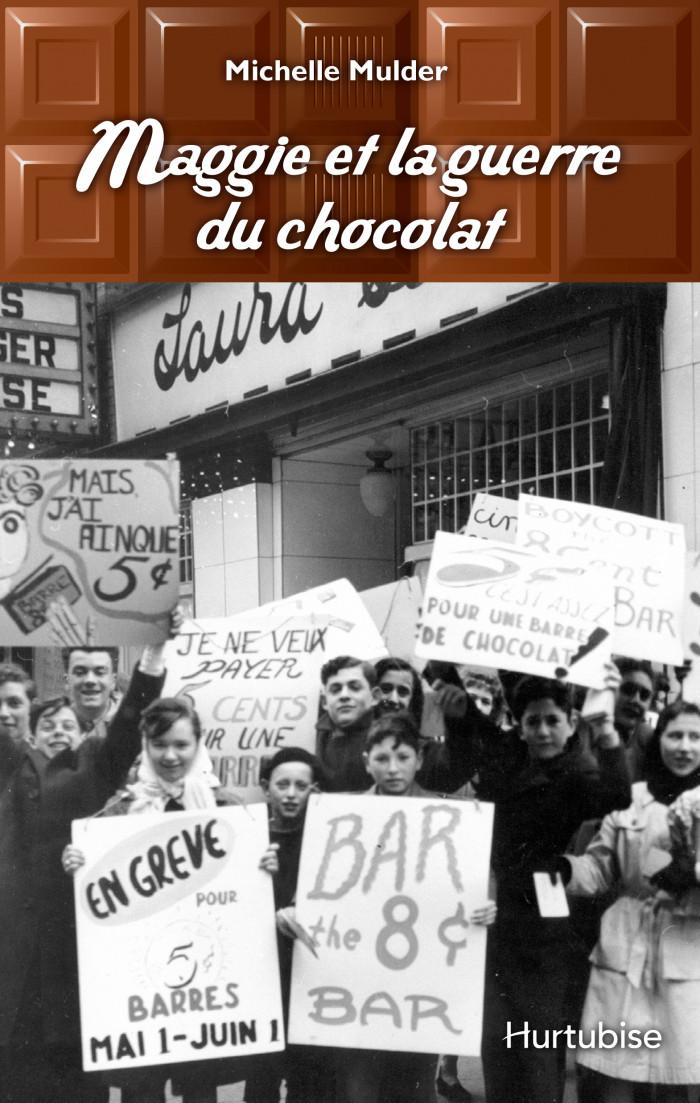Couverture de Maggie et la guerre du chocolat