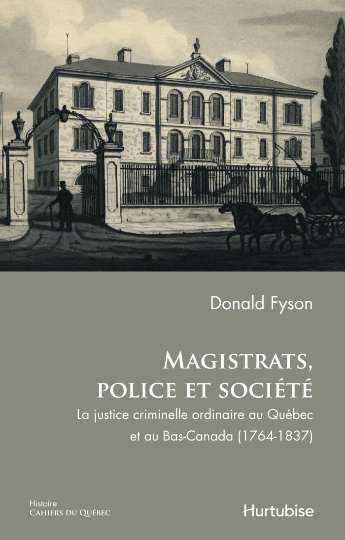 Couverture de Magistrats, police et société