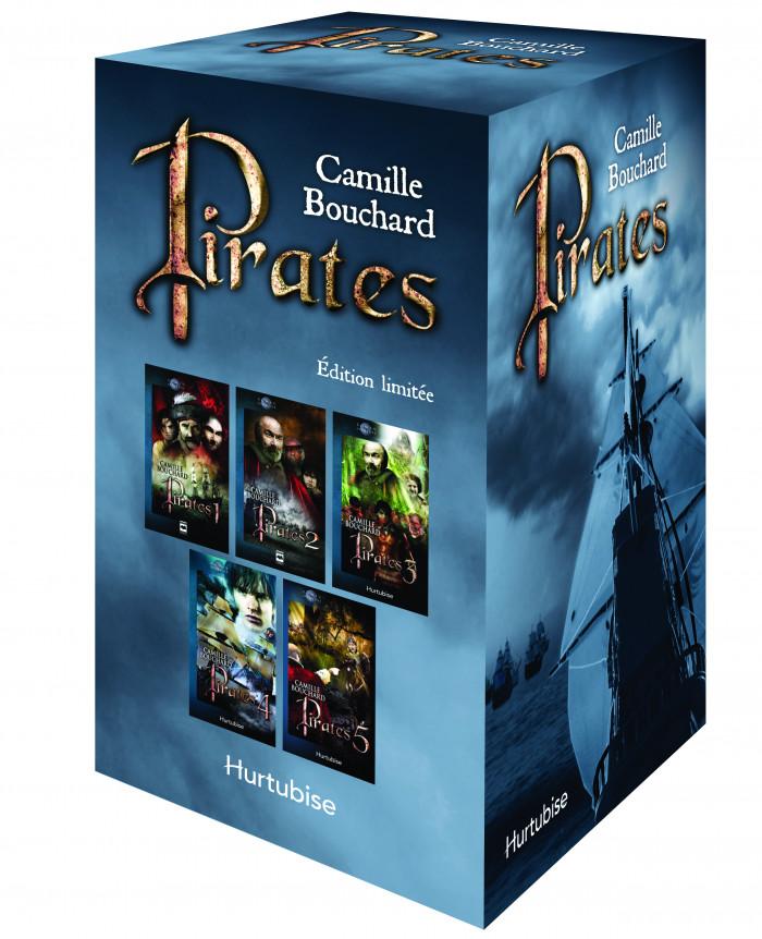 Couverture de Pirates (coffret)