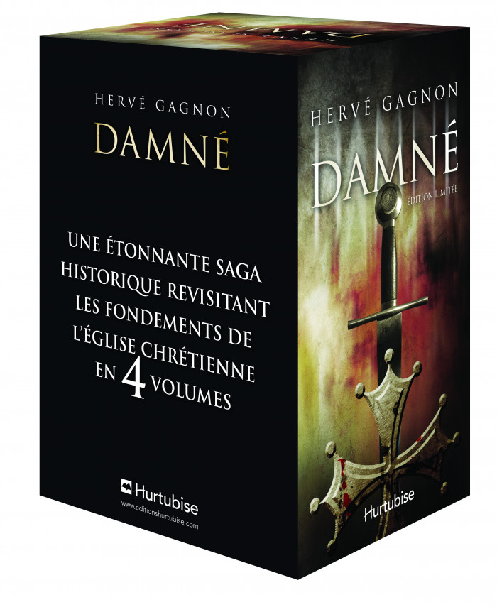 Couverture de Damné (coffret)