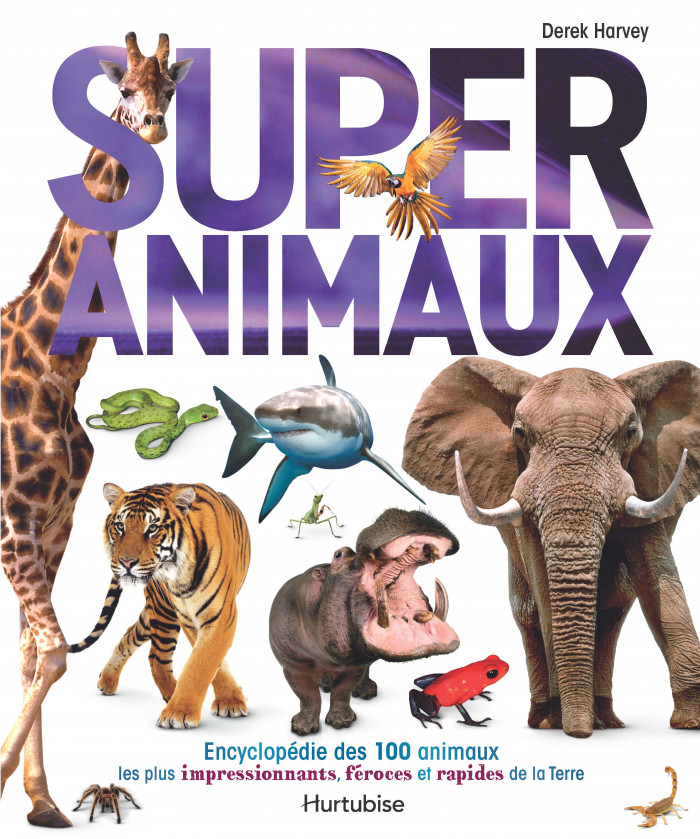 Couverture de Super animaux