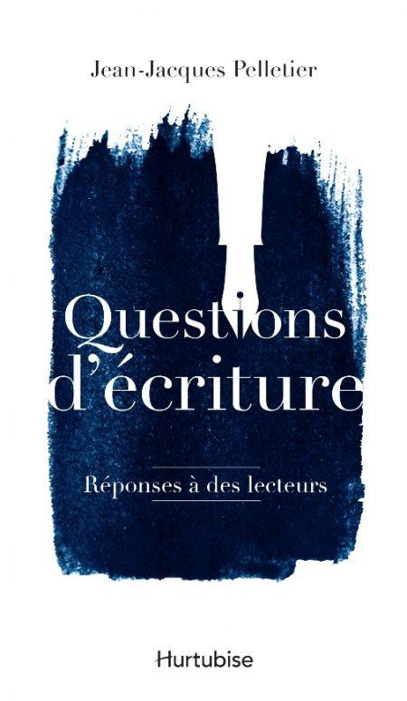 Couverture de Questions d'écriture