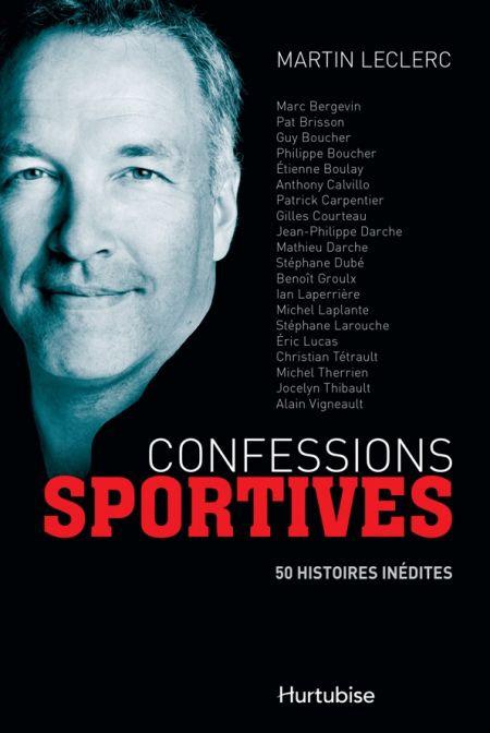Couverture de Confessions sportives