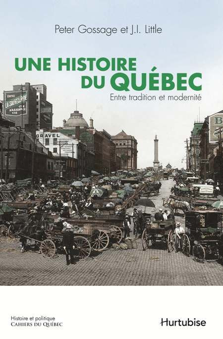 Couverture de Une Histoire du Québec