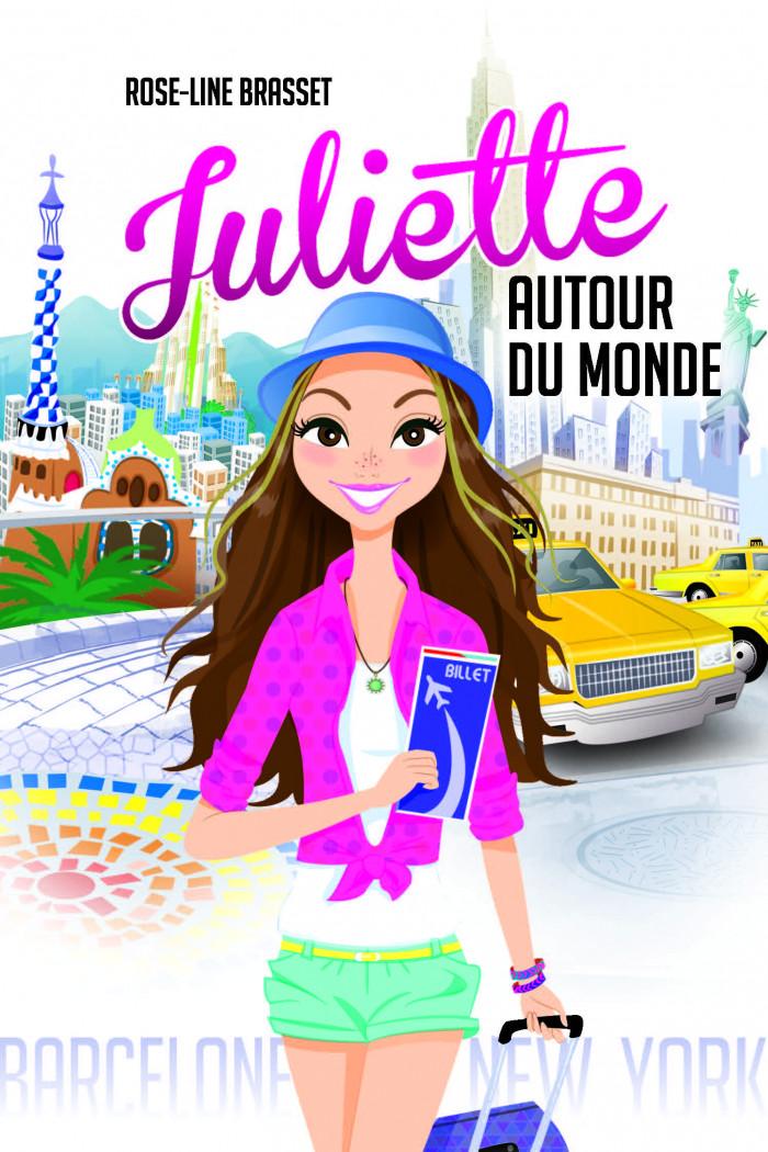 Couverture de Juliette autour du monde