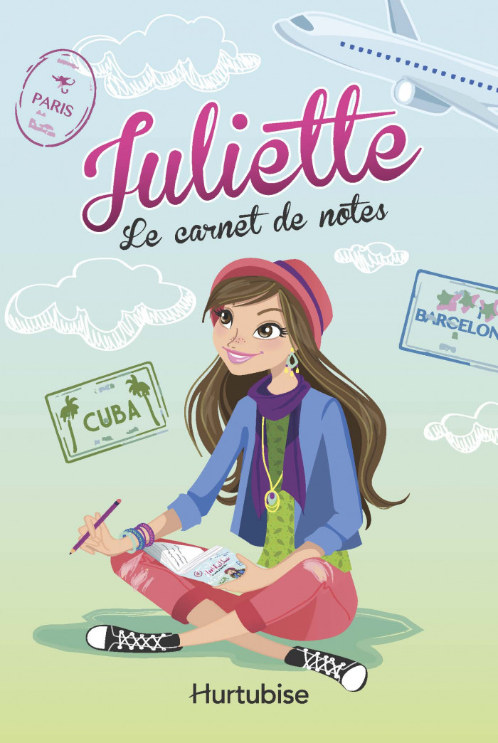 Couverture de Le Carnet de notes de Juliette