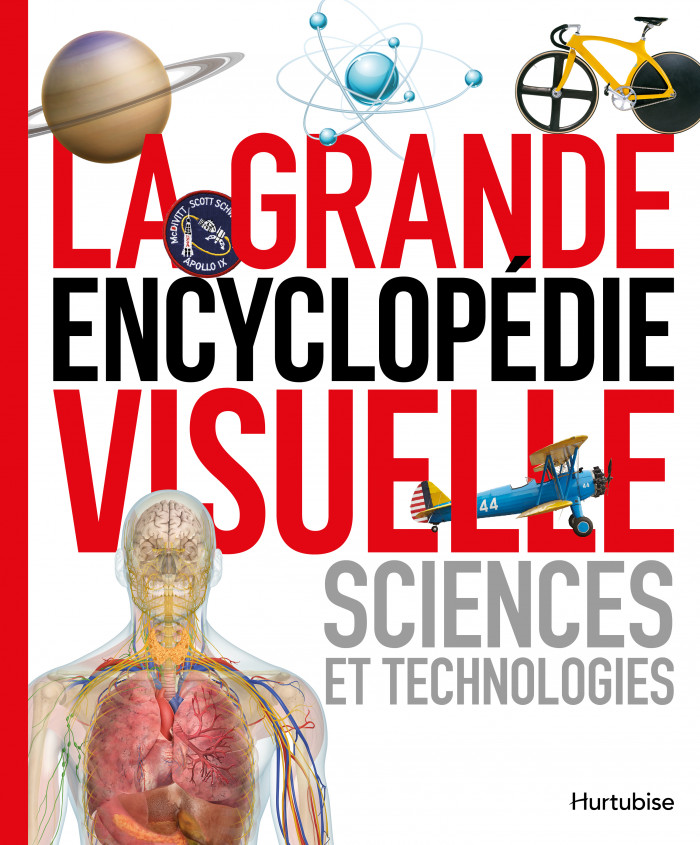 Couverture de La grande encyclopédie visuelle : Sciences et technologies