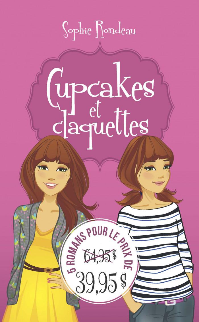 Couverture de Cupcakes et claquettes (coffret)