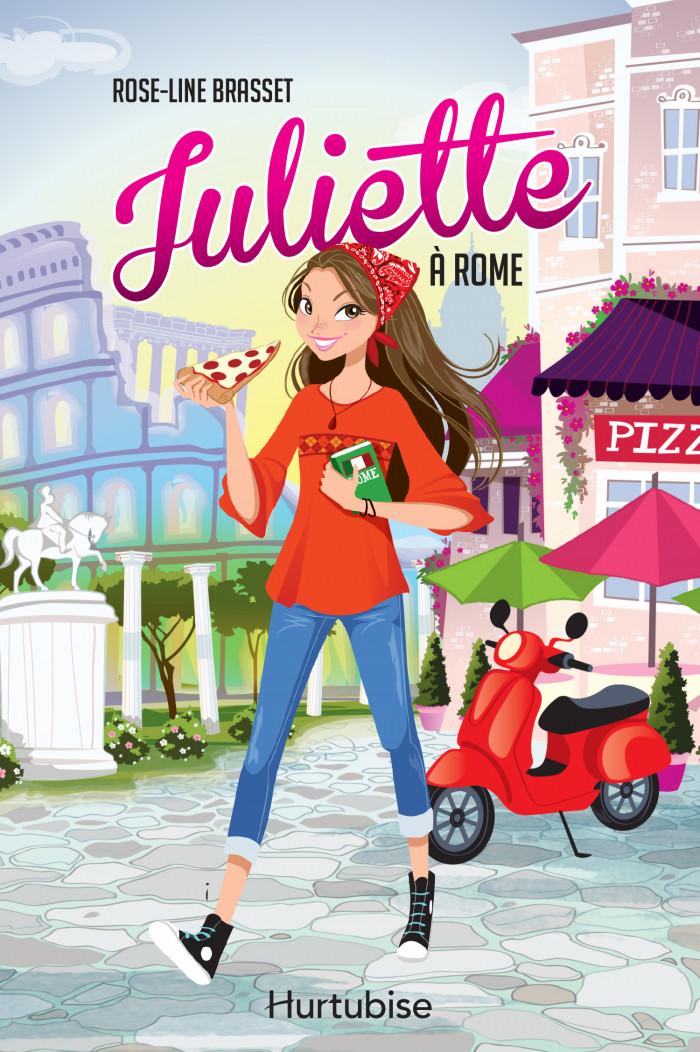 Couverture de Juliette à Rome + Le carnet de notes de Juliette