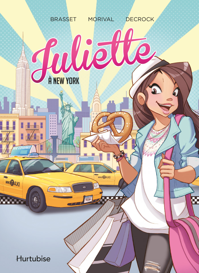 Couverture de Juliette à New York - La BD