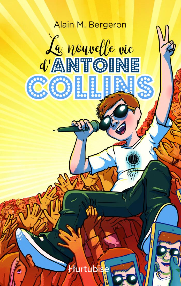 Couverture de La nouvelle vie d'Antoine Collins