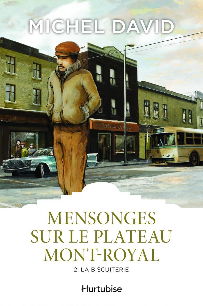 Couverture de Mensonges sur le Plateau Mont-Royal - Tome 2