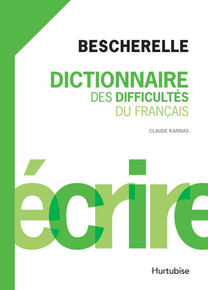 Couverture de Dictionnaire des difficultés du français
