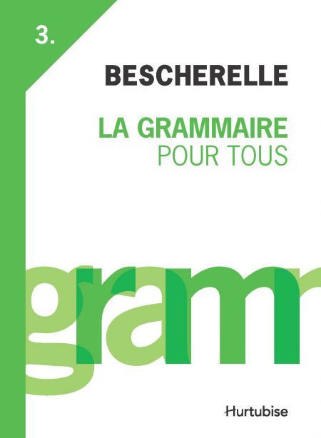 Couverture de La Grammaire pour tous
