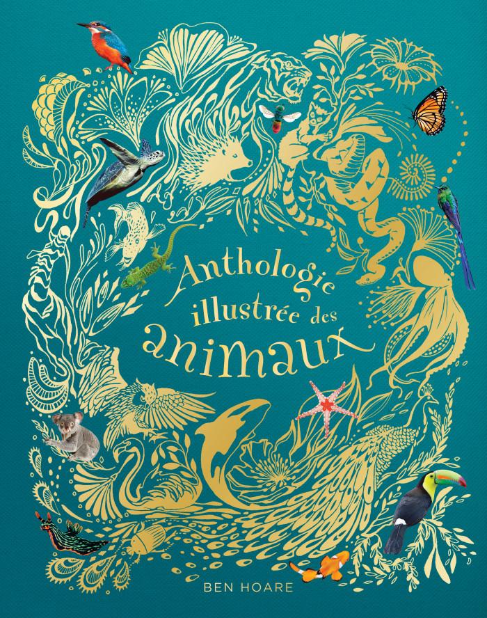 Couverture de Anthologie illustrée des animaux