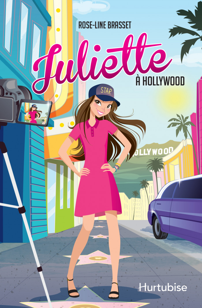 Couverture de Juliette à Hollywood