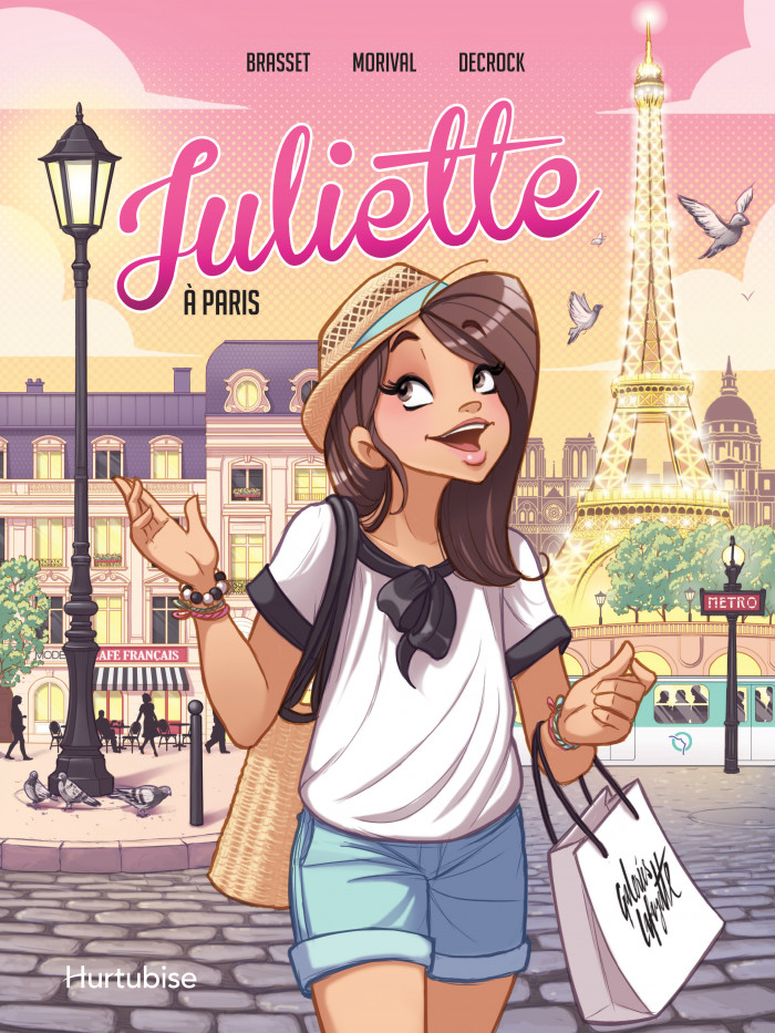 Couverture de Juliette à Paris - La BD
