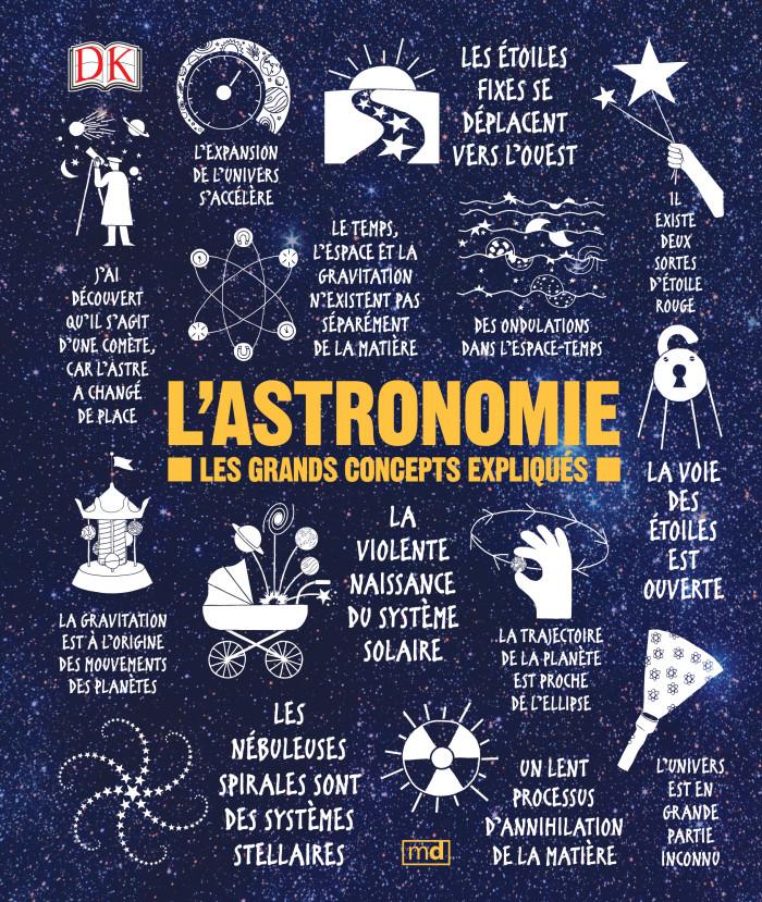 Couverture de L'astronomie
