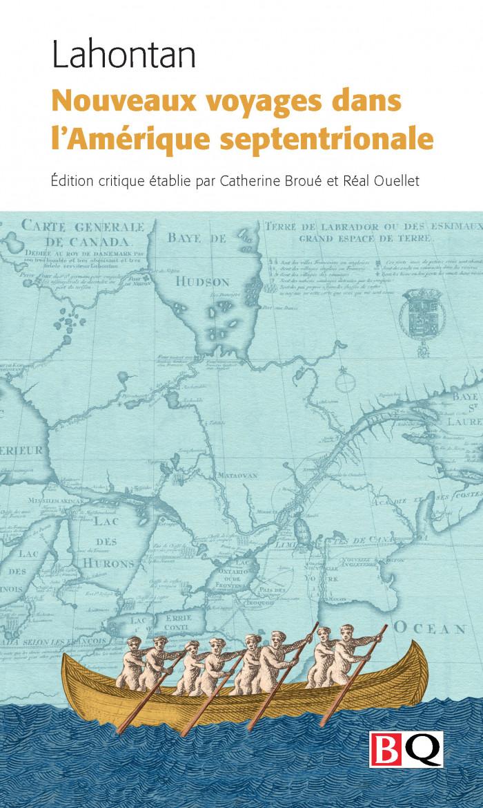 Couverture de Nouveaux voyages en Amérique septentrionale