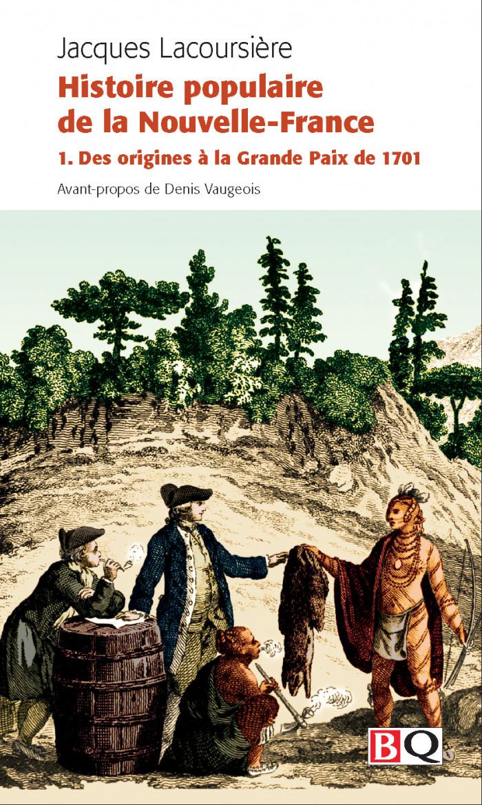Couverture de Histoire populaire de la Nouvelle-France - Vol. 1
