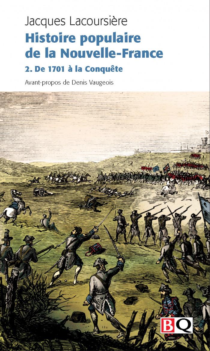 Couverture de Histoire populaire de la Nouvelle-France - Vol. 2