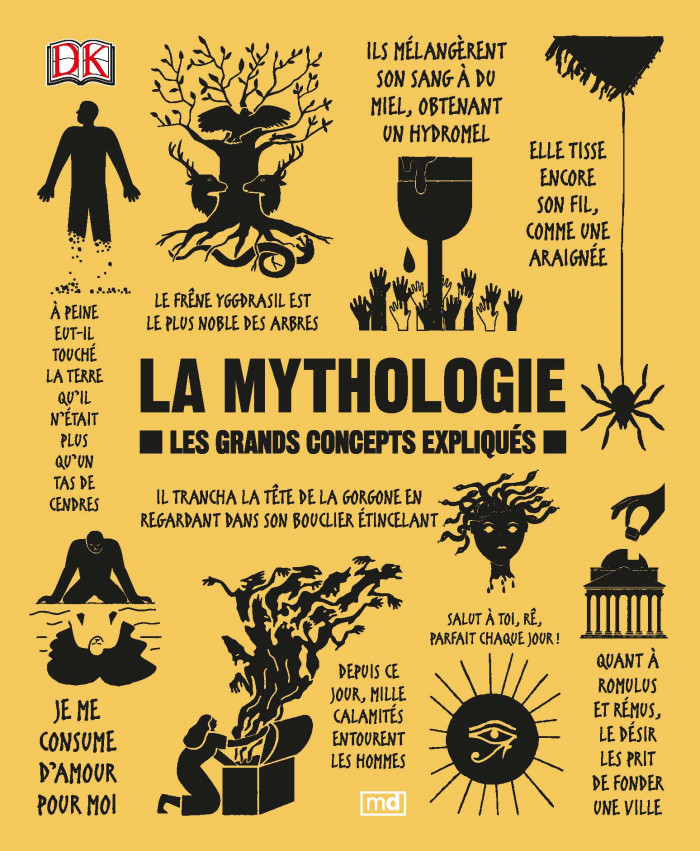 Couverture de La mythologie
