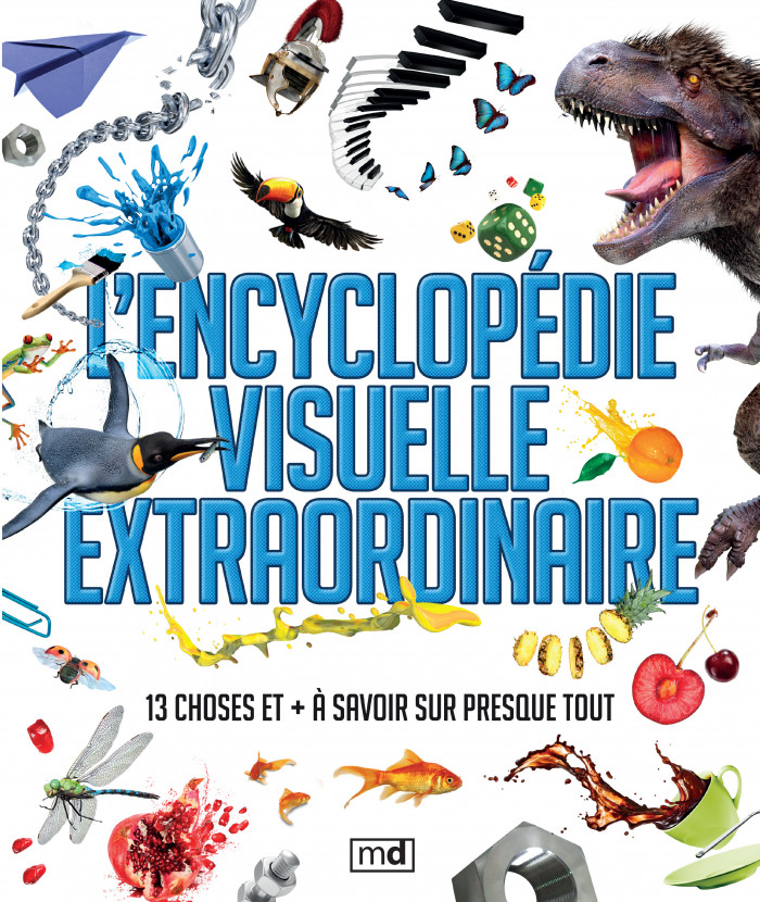 Couverture de L'encyclopédie visuelle extraordinaire
