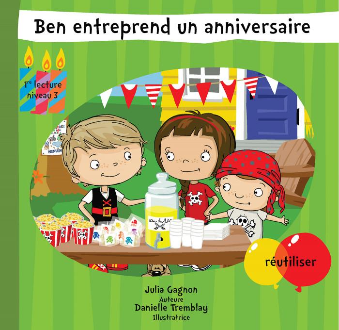 Couverture de Ben entreprend un anniversaire