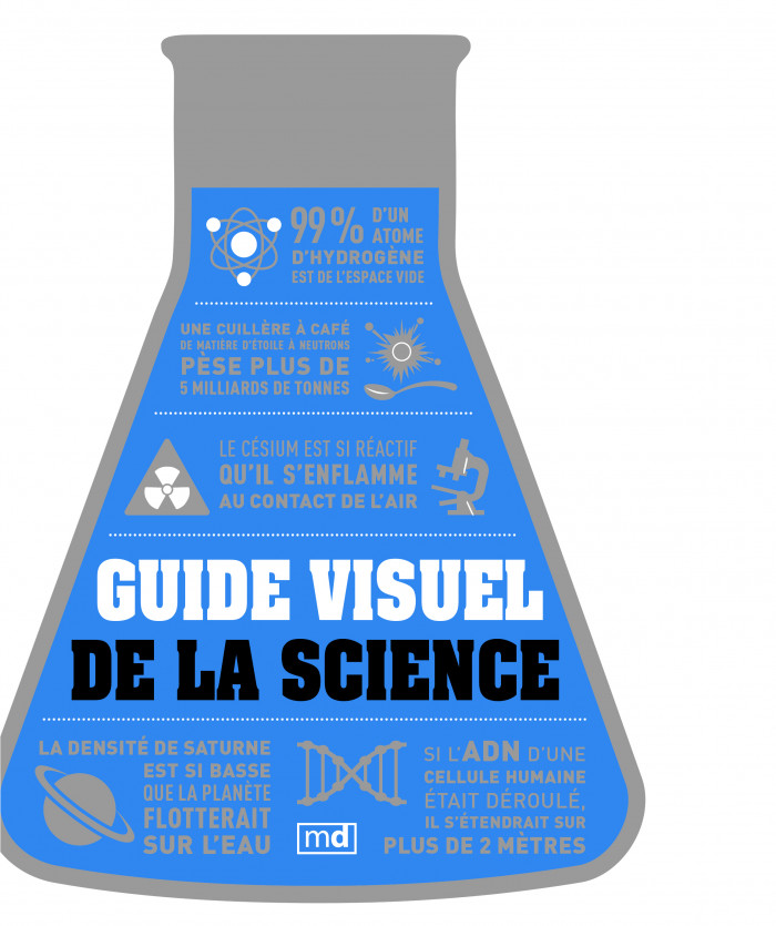 Couverture de Guide visuel de la science