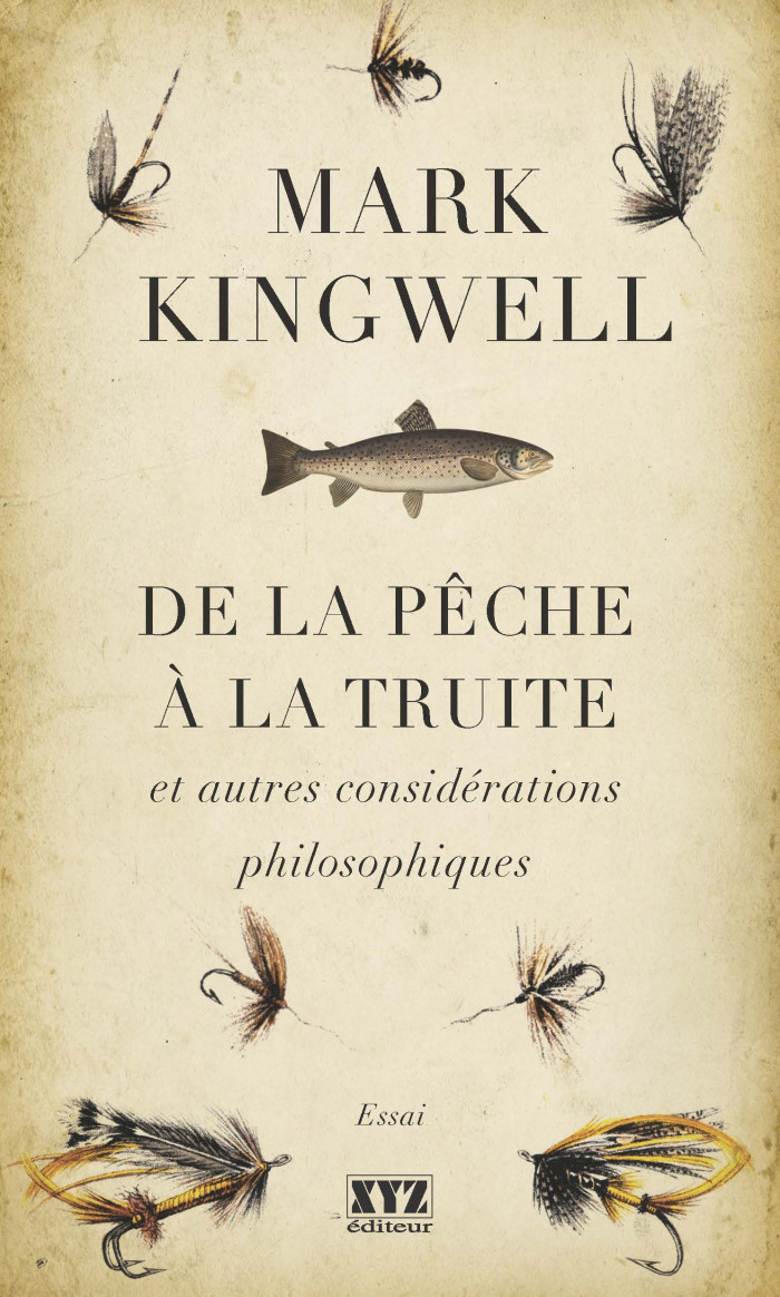 Couverture de De la pêche à la truite et autres considérations philosophiques