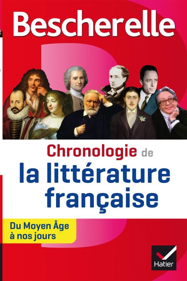 Couverture de Bescherelle - Chronologie de la littérature française
