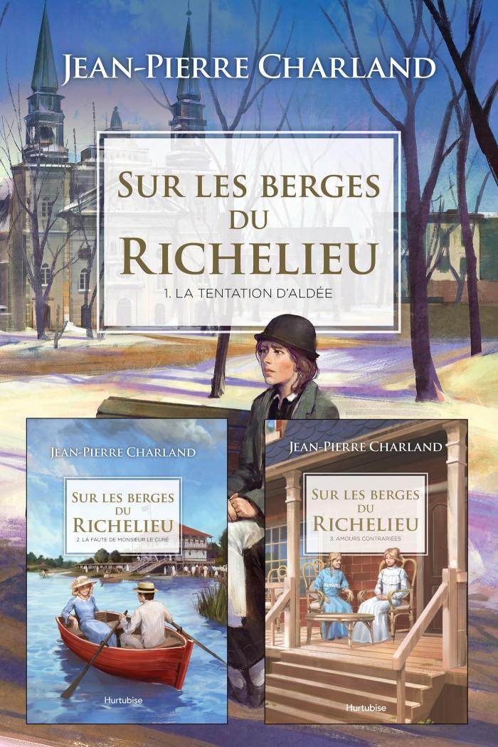 Couverture de Sur les berges du Richelieu (coffret)
