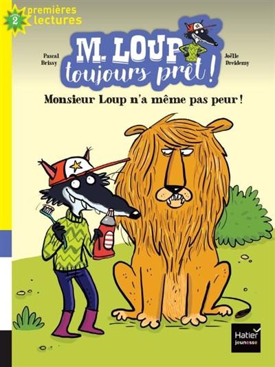 Couverture de Monsieur Loup n'a même pas peur # 1 (niv. 2)