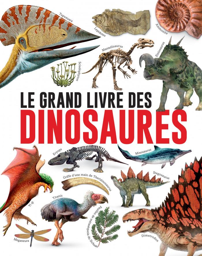 Couverture de Le grand livre des dinosaures