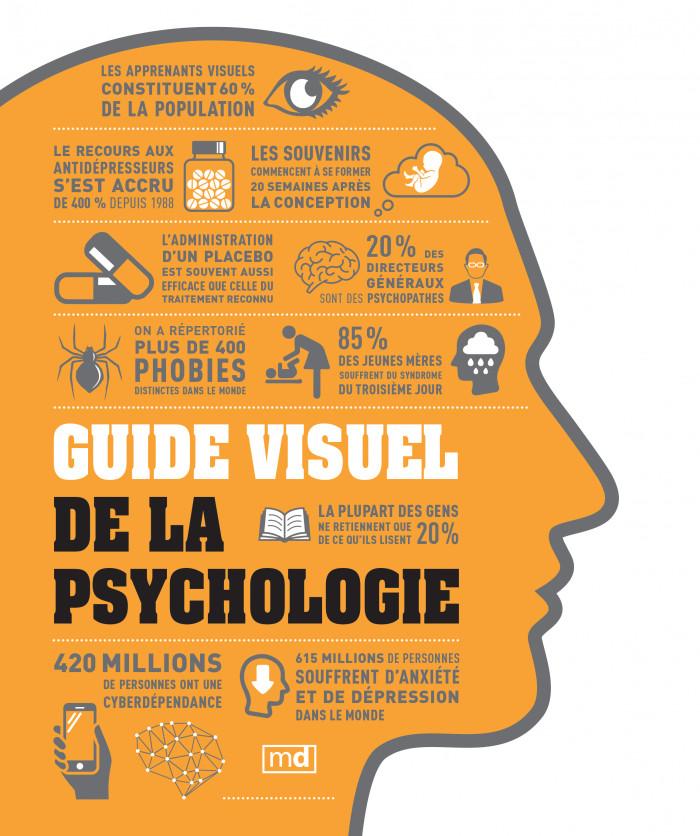 Couverture de Guide visuel de la psychologie